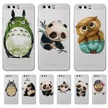 Totoro Panda cartoon For Huawei Mate 9 10 20 30 P8 P9 P10 P20 P30 P Smart Lite Plus Pro phone Case Cover Coque Etui funda capa