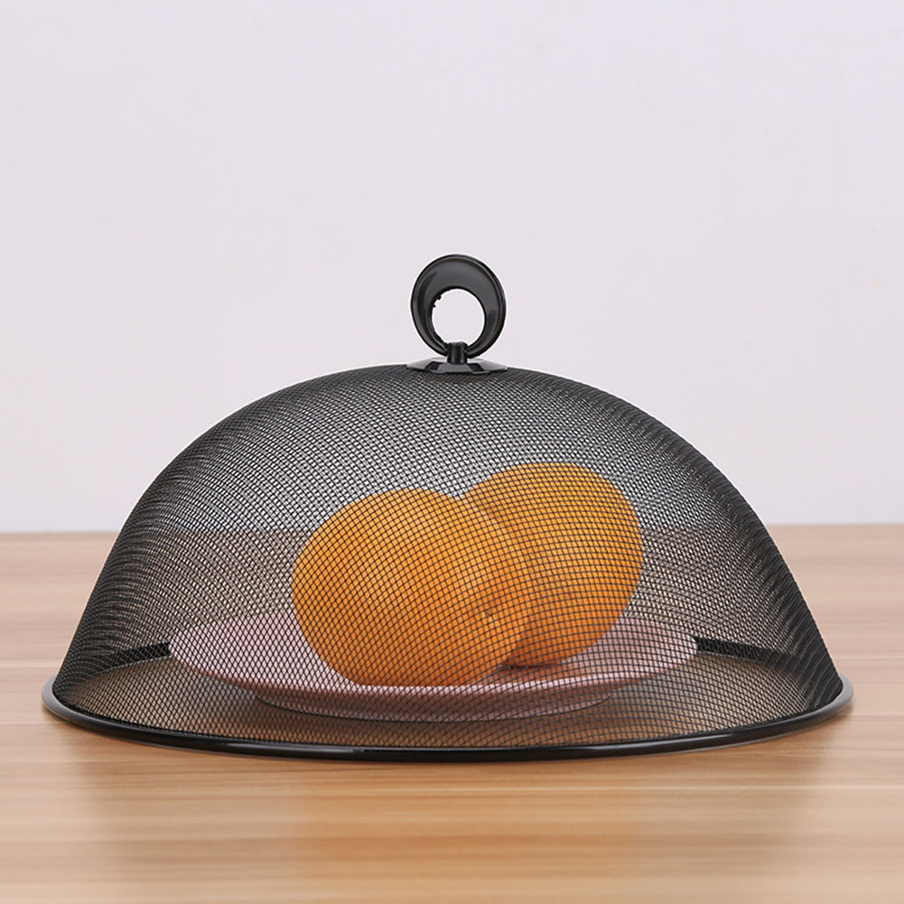 1pcs Kitchen Metal Food Cover Anti Fly Mosquito Round Durable Food Fruit Dish Cover BBQ Picnic Kitchenware