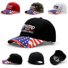 цена на Goocheer Trump 2020 American Flag Realtree Hat Keep America Great MAGA USA Camo Cap NEW
