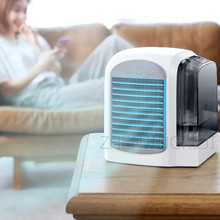 Water Cooling Small Air Conditioner Air Cooler Home Air Conditioning Fan USB Electric Air-conditioning Fan Household Appliances usb small air conditioning appliances portable mini fans air cooler fan summer strong wind air humidifies air conditioner 1pc