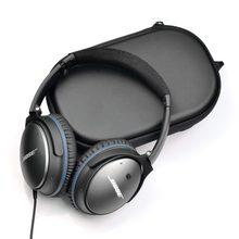 Eva dura bolsa de proteção para bose quietcomfort conforto silencioso qc 15 2 3 25 35 qc35 i ii qc25 qc15 qc2 fones de ouvido