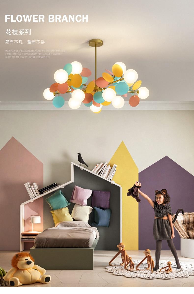 de teto com desenhos animados, iluminação para sala de estar, para crianças