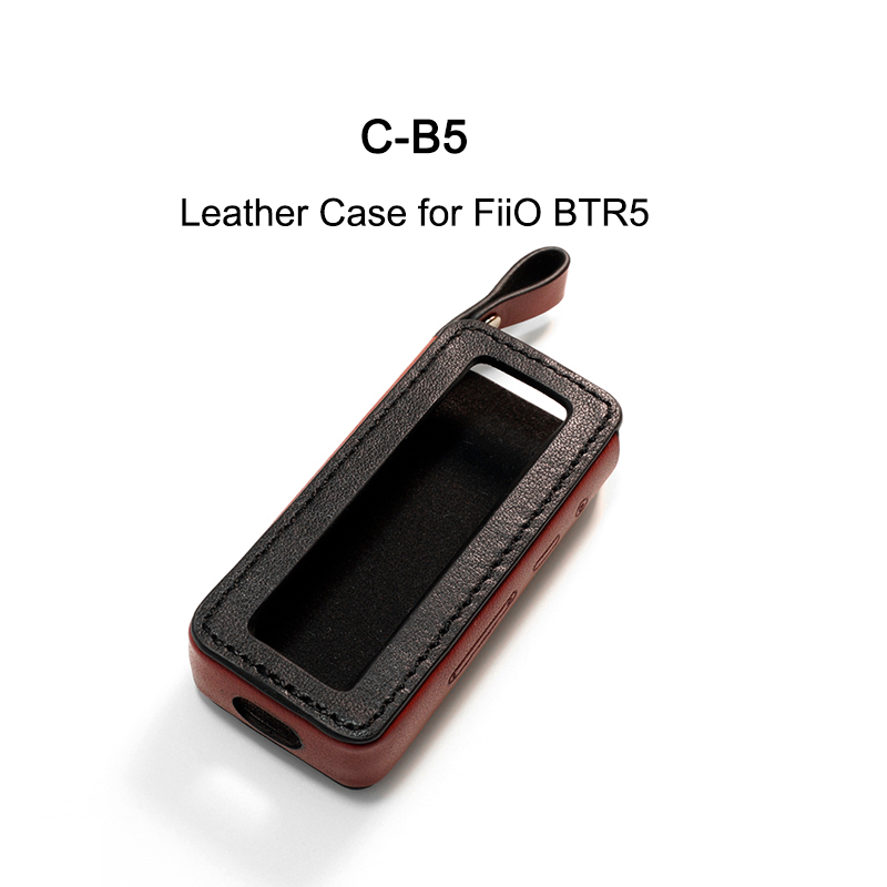 Fiio SK-BTR5 / DD Audio C-B5 Leather Case For Amplifier BTR5