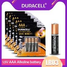 DURACELL – piles alcalines AAA 1.5V, 20 pièces, pour télécommande, lampe de poche, jouet, serrure de porte intelligente, horloge, souris, pile primaire sèche, LR03