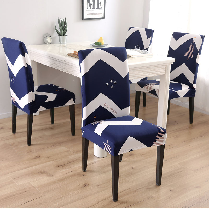 Spandex Chair Cover Stretch Elastic Dining Seat Cover for Banquet Wedding Restaurant Hotel Anti dirty in Chair Cover from Home Garden