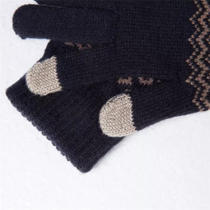 Image 2 - Original Youpin FO Finger Touch Screen Handschuhe für Frauen Männer Winter Warme Samt Handschuhe Für Telefon Tablet Geburtstag Weihnachten Geschenk