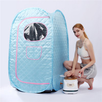 Portable Steam Sauna Generator 2.8L 1500W For Sauna SPA larger TentLose Weight Detox Therapy Steam Fold Sauna Cabin