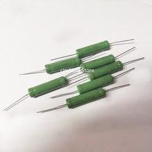 5PCS Wire Wound Resistência 5% RX21-10W 0.56R 0.62R 0.68R 0.82R 1R 1.21R 1.5R 1.6R 1.8R 2R 2.2R 2.4R 2.7R 3R 3.3R 3.6R