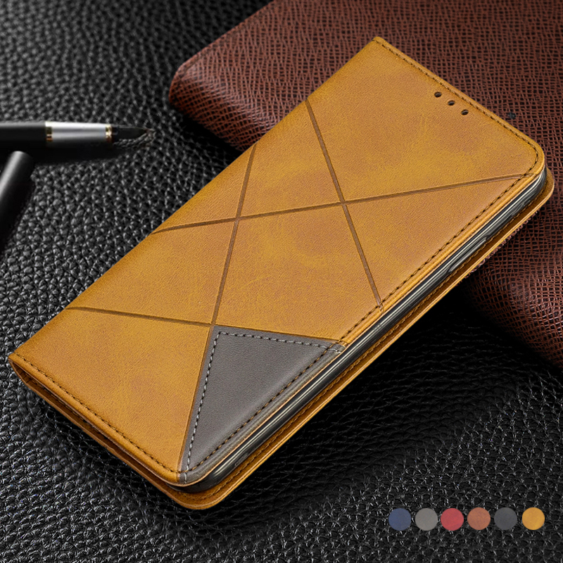 Vintage Wallet Leather Flip Cover For <font><b>Huawei</b></font> Honor 10i 9x 8s 8a 7a 7c 10lite <font><b>Y5</b></font> Y6 <font><b>2018</b></font> Y7 Y9 Prime 2019 Card Holder Phone Case image