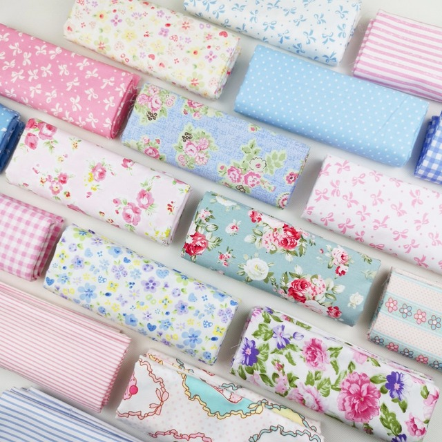 By Meter 100%Cotton Fabric Diy Sewing Craft Baby Dress Home Decor Telas Crib Patchwork Cloth Tissus Tilda Tecido Sheets Material