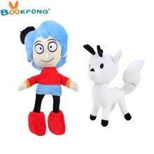 1pc Kawaii Hilda Plüsch Spielzeug Weichen Puppen Zweig Plüsch Stofftier Baby Schlafen Beschwichtigen Puppe Spielzeug Für Mädchen Kinder geburtstag Weihnachten Geschenk