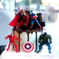 Jungen Avengers 3 Film Anime Super Heros Action Captain America Ironman hulk thor Superhero Figur Spielzeug für kinder geschenk