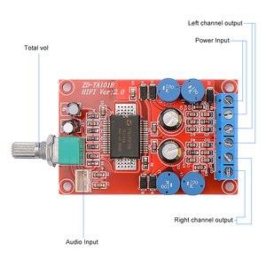 Image 5 - AIYIMA TA1101B Power Amplifier Audio Board 10W+10W Stereo 2.0 Class T Digital Amplifiers Speaker Home Sound Theater DIY