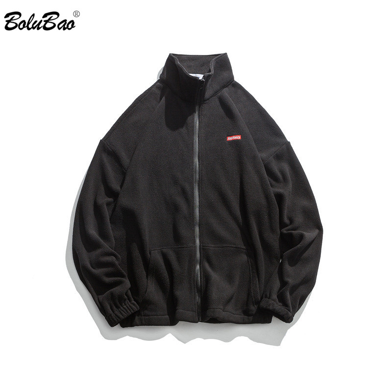 BOLUBAO Brand Men Jackets New Casual Solid Color Embroidery Male EU Size Coats Fashion Wild Hight Street Style Men's Jackets