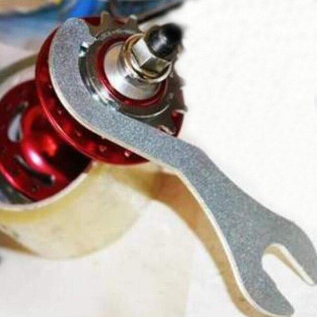 Clé à pédale de vélo pratique 15-16mm vélo vélo pédalier verrouillage anneau de verrouillage outils de réparation de vélo
