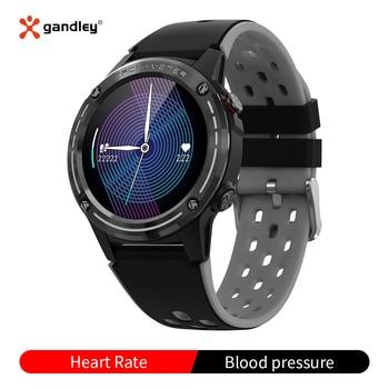 Gandley M6C GPS Sport Bluetooth Smart Watch Men Women Fitness Activity Heart Rate Tracker Waterproof Smartwatch for Android iOS