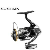 SHIMANO SUSTAIN FI 2500 2500HG C3000HG 3000XG 4000XG C5000XG 20-24 (LB) Gear Ratio 5.0:1/6.2:1/4.8:1 Spinning Fishing Reel