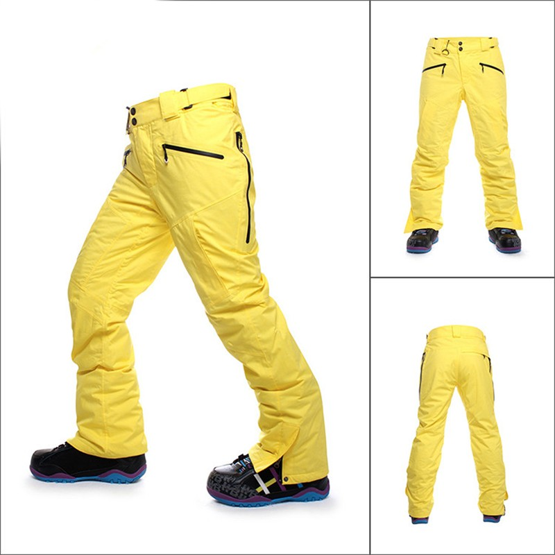 snowboard para o sexo masculino engrossar calças