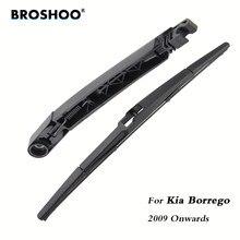 Braço traseiro do limpador do pára-brisas das lâminas de limpador do carro de broshoo para kia borrego hatchback (2009-) 355mm, estilo do automóvel do pára-brisa
