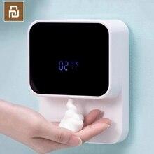 Youpin LED عرض التلقائي التعريفي رغوة اليد غسالة الاستشعار رغوة المنزلية مستشعر الأشعة تحت الحمراء للمنازل مول WC