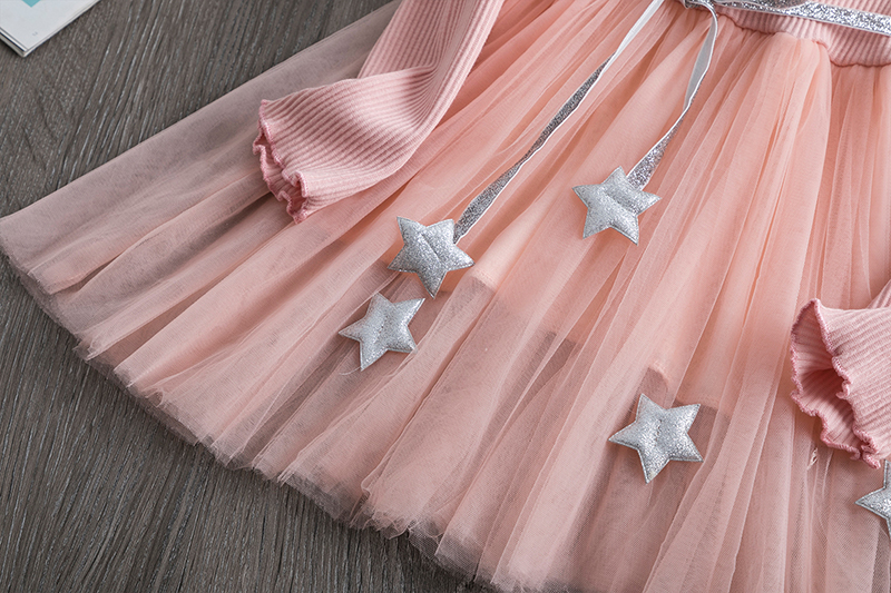 H68fb9ca80f064d6a8b4de9f430b353689 Red Kids Dresses For Girls Flower Lace Tulle Dress Wedding Little Girl Ceremony Party Birthday Dress Children Autumn Clothing