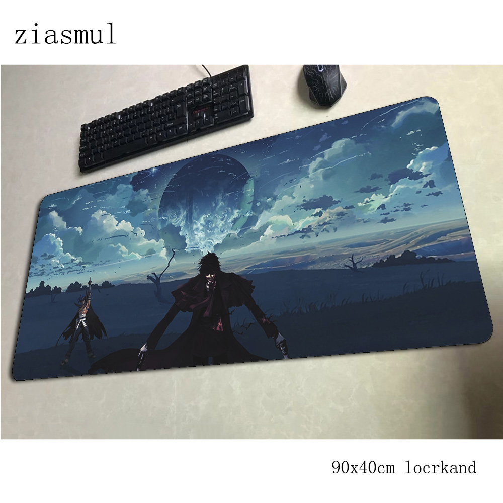 hellsing <font><b>padmouse</b></font> <font><b>900x400x3mm</b></font> gaming mousepad game esports mouse pad gamer computer desk locked edge mat notbook mousemat pc image
