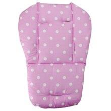 Universal Waterproof Soft Baby Stroller Cushion Pad Dot Pattern Liner Padding Li