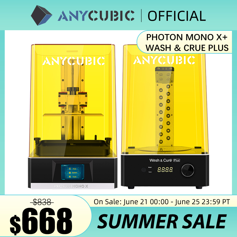 ANYCUBIC The Largest LCD 3D Printer Photon Mono X 8.9 inch 4K Monochrome Screen High Speed UV Resin 3D Printers Come With APP