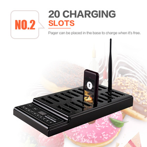 Image 3 - Retekess T112 Restaurant Pager With 20 Pager Receivers Long Range For Restaurant Clinic Queue System Waiter Calling System