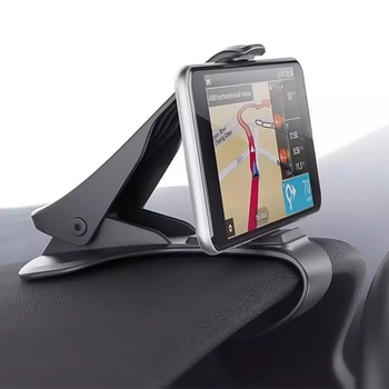 Car Phone Holder Clip HUD Design Dashboard Adjustable Mount For IPhone 8 7 Plus 6 Galaxy S8 Phone Stand Bracket image