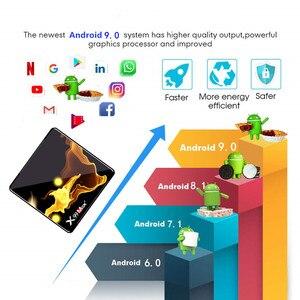 Image 5 - X99 Max Plus Smart tv box Android 9,0 2,4G/5G Wifi BT 4,0 RK Quad Core 4K 1080P Volle HD Set Top Box KD Player präfix
