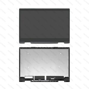 """Image 1 - Para a HP ENVY x360 15 bq100nd 15 bq003au 15 bq100au 15 bq002au 15 bq101tu 15.6 """"FHD LCD Screen Display Toque Digitador Assembléia"""