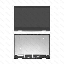 """Voor HP ENVY x360 15 bq100nd 15 bq003au 15 bq100au 15 bq002au 15 bq101tu 15.6 """"FHD Lcd scherm Touch Digitizer Vergadering"""