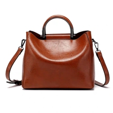 JUILE Leather Handbags Big Women Bag High Quality Casual Female Bags New Tote Spanish Brand Shoulder Ladies Large Bolsos
