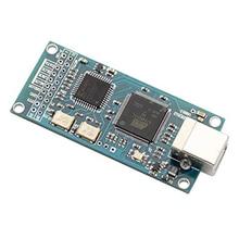 ATSAM3U1C XC2C64A for Amanero USB IIS Digital Interface DAC Decoder Board Support DSD512 32Bit 384K I2S DSD Output xmos cpld xu208 usb digital interface i2s output for es9038rpo ak4497 dacak4497 es9018 es9028 es9038 dac decoder board