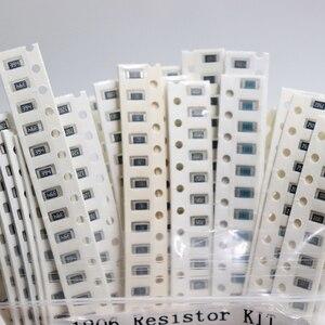 Image 2 - 1206 SMD Resistor Kit Assorted Kit 1ohm 1M ohm 1% 33valuesX 20pcs=660pcs Sample Kit