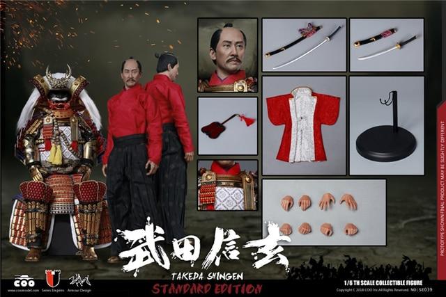 In Stock SE039/SE040 1/6 Empire Series TAKEDA SHINGEN Tiger of Kai DX Figure Standard/ Limited Ver Model for Fans Gifts