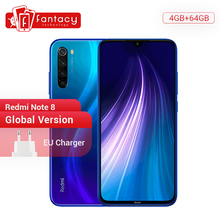 "Global Versie Xiaomi Redmi Note 8 4Gb 64Gb 48MP Quad Camera Smartphone Snapdragon 665 Octa Core 6.3 ""fhd Scherm 4000Mah"