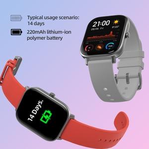 Image 5 - Умные часы Amazfit GTS, 5 АТМ, водонепроницаемые умные часы для плавания, 14 дней без подзарядки, управление музыкой