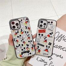 2021 Disney Mickey Minnie Voor Iphone 7/8Plus Xr Xs Max 11/12pro Max 12Mini Paar telefoon Case Iphone 11 Telefoon Gevallen