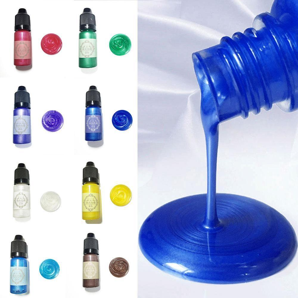 Epoxy Resin Pigment Liquid Colorant Dye Ink Diffusion Resin Jewelry Making Handmade Soap Coloring Powder