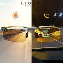 Top Anti-glare Day Night Vision Glasses For Driving Men Polarized Sunglasses Photochromic Driver Goggles Glasses zonnebril heren