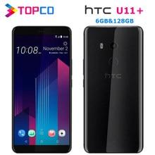 HTC U11 + U11 Plus 128GB Original desbloqueado GSM 3G y 4G Android Teléfono Móvil Octa Core 6,0
