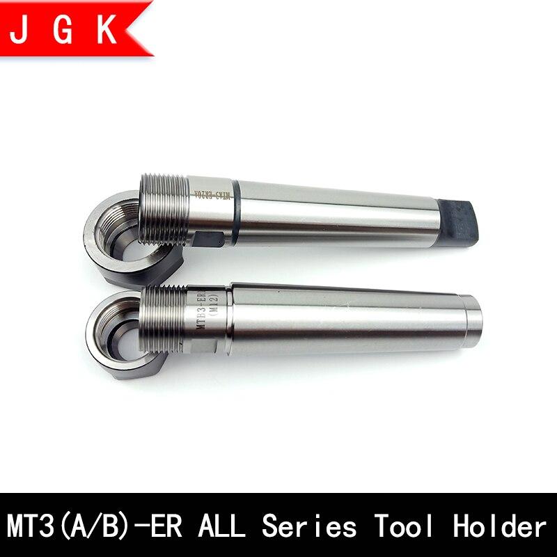 Mta3 Mtb3 Er11 Er16 Er20 Er25 Er32 Cnc Tool Holder Morse Mt3 Tool Holder Rear Pull Flat Tail Center Tool Holder Er Collet Chuck
