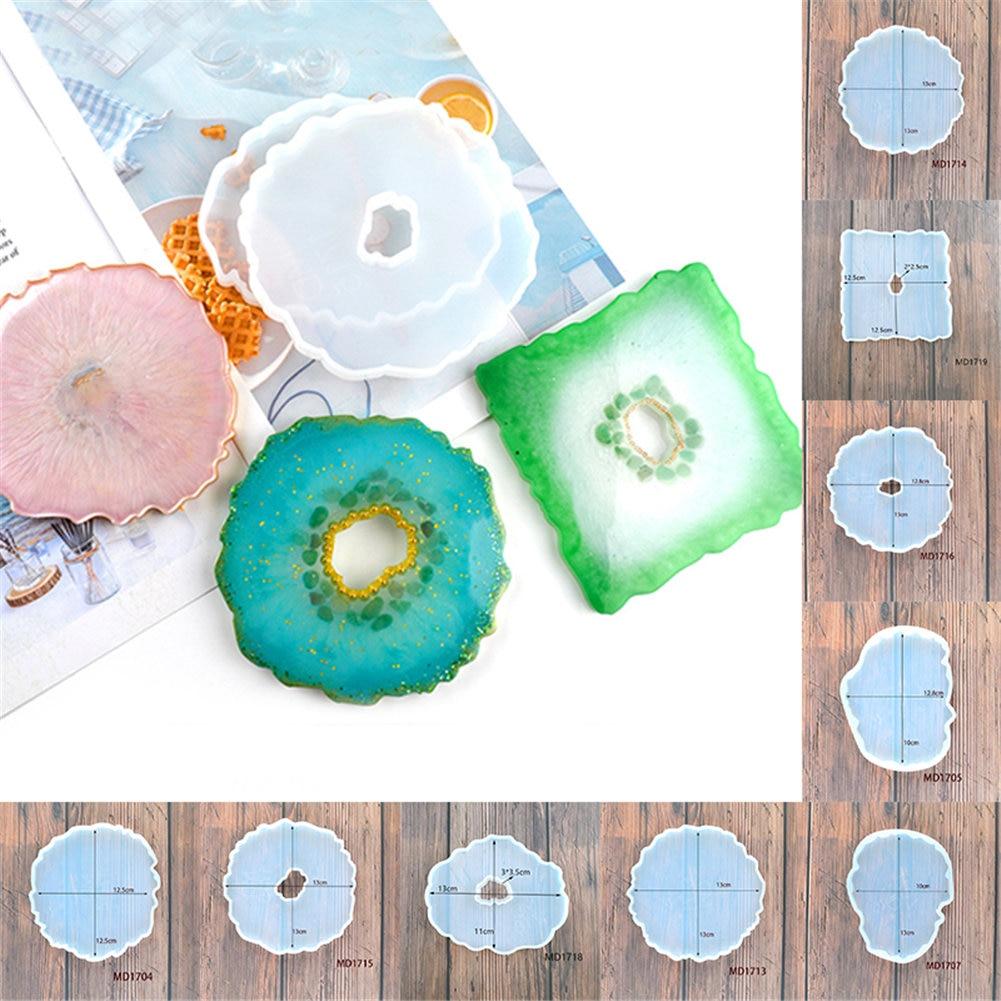 Crystal Resin Coaster DIY Kit