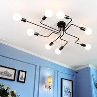 Vintage Ceiling Lamp For Dining Room Lights Loft Kitchen Fixture Industrial Bar Restaurant Decor Home Living Retro Plafon Lustre