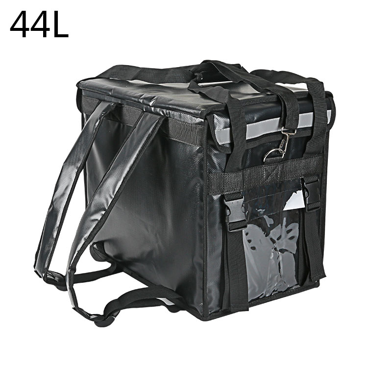 44L Shoulder Locks Insulated  Refrigerating Cabin Waterproof Takeout Cabinet Food Delivery Container Delivery Box