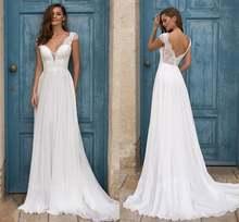 2021 новые пляжные свадебные платья размера плюс с рукавом крылышком