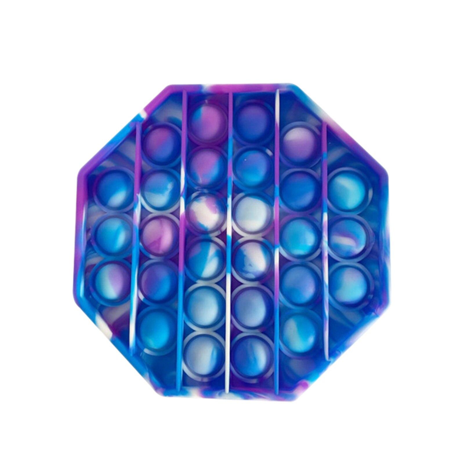 Sensory Toy Stress-Toys Reliver It Pop Fidget Rainbow-Push Adult Children img5