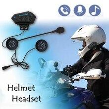 Гарнитура kebidumei для шлема, беспроводные наушники, совместимые с мотоциклетными шлемами для скутера, свободные руки